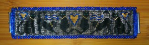 Finished bracelet - front